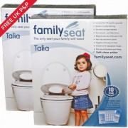 Talia Soft Close Family Toilet Seat Saver Pack